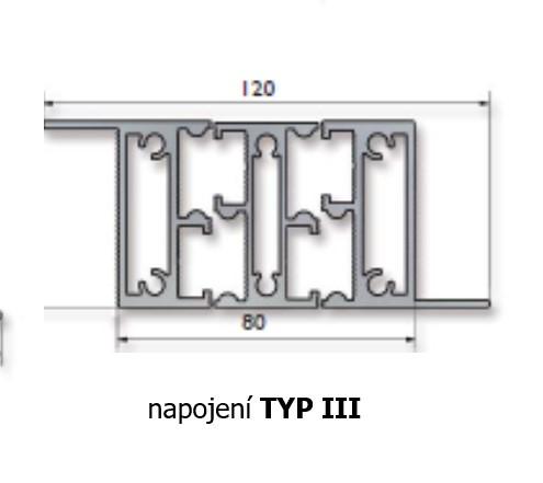 výsuv typ iii